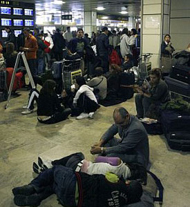 Casi un millón de pasajeros afectados.  Y no pasa nada.