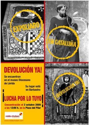 DEVOLUCIÓN DE LOS BIENES SACROS.
